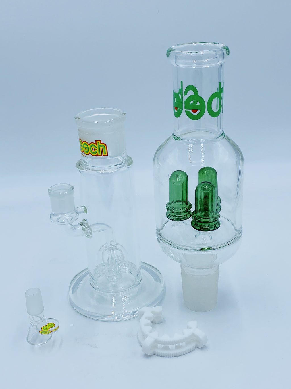 CHEECH GLASS QUAD TO TRIPLE BUILD A BONG SET - Smoke Country - Land of the artistic glass blown bongs