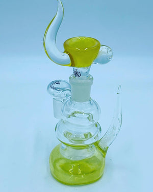Kobb Glass 18mm Lemon Dry Ash Catcher