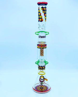 Cheech Glass Racing Build A Bong Set