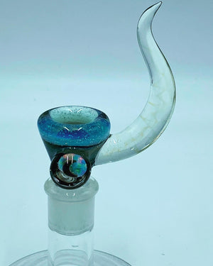 Kobb Glass 18mm  Crushed Opal Hydro Bowl