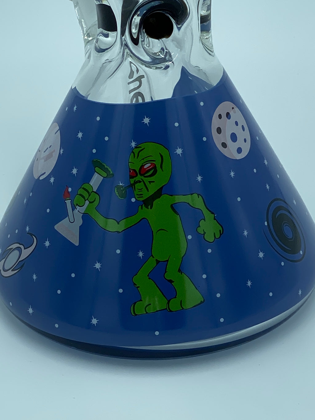 Cheech Glass 9mm Thick Alien Beaker - Smoke Country - Land of the artistic glass blown bongs