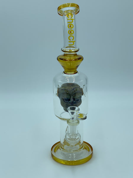 Cheech Glass Amber Goblin Percolator