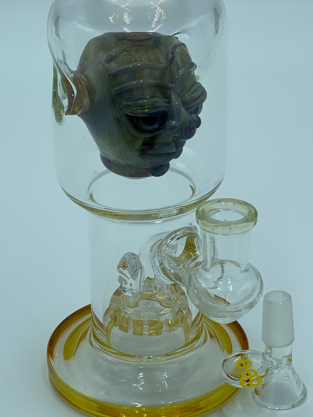 Cheech Glass Amber Goblin Percolator - Smoke Country - Land of the artistic glass blown bongs