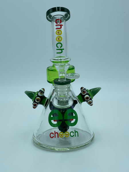 Cheech Glass Green Devil Goblin
