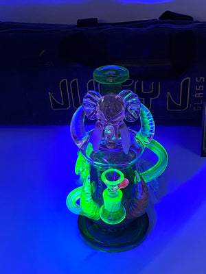 JUICY JAY FULL UV ELEPHANT - Smoke Country - Land of the artistic glass blown bongs