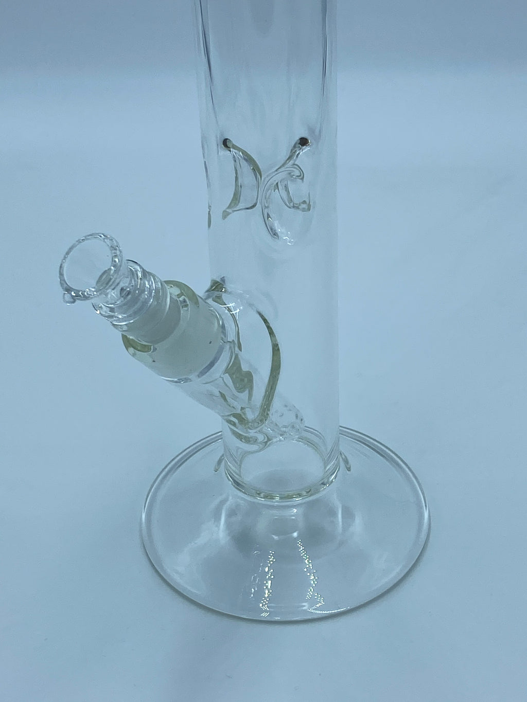 SHELDON BLACK 22 INCH STRAIGHT TUBE - Smoke Country - Land of the artistic glass blown bongs