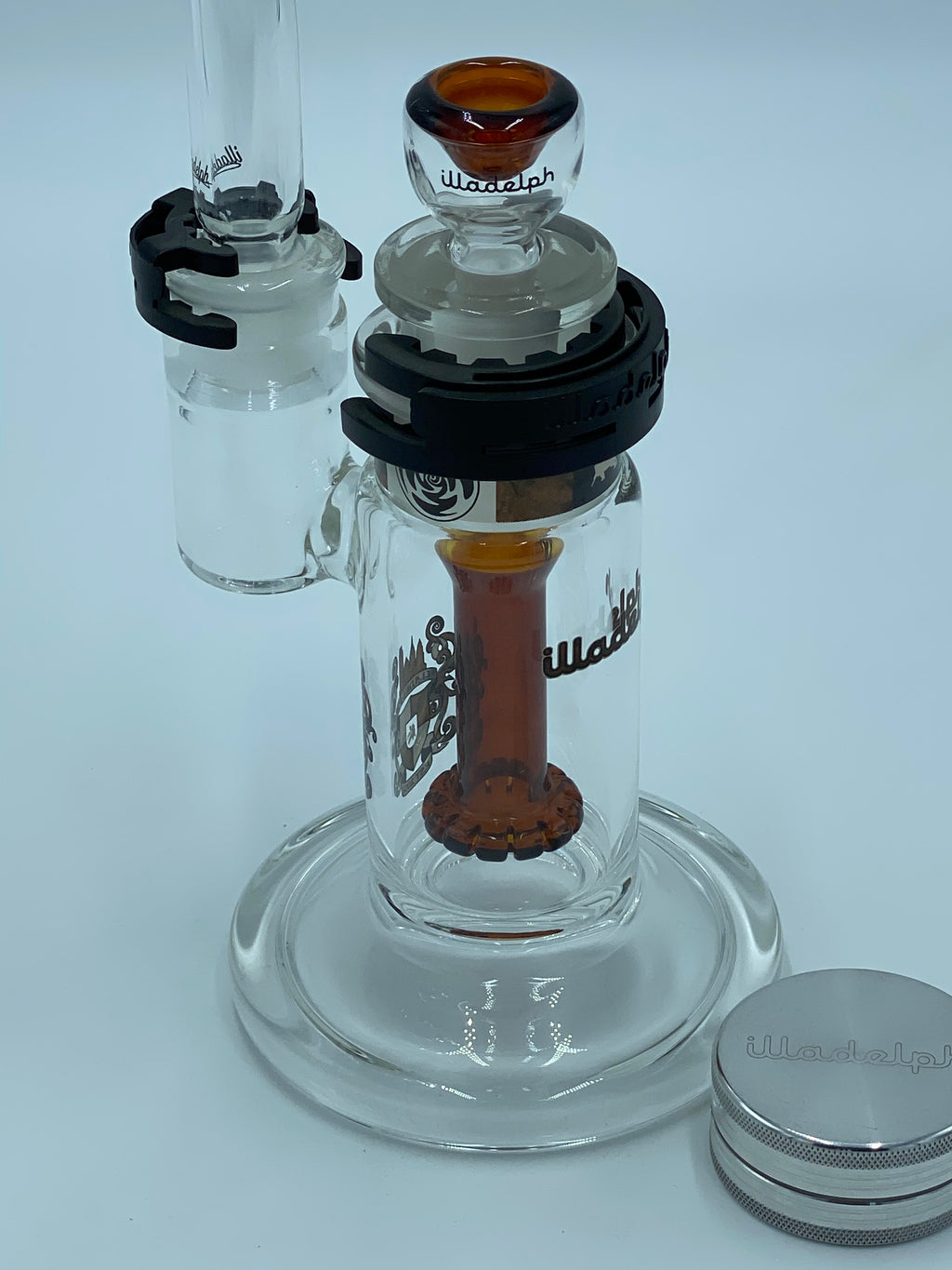 ILLADELPH SHOWER HEAD BUBBLER - Smoke Country - Land of the artistic glass blown bongs