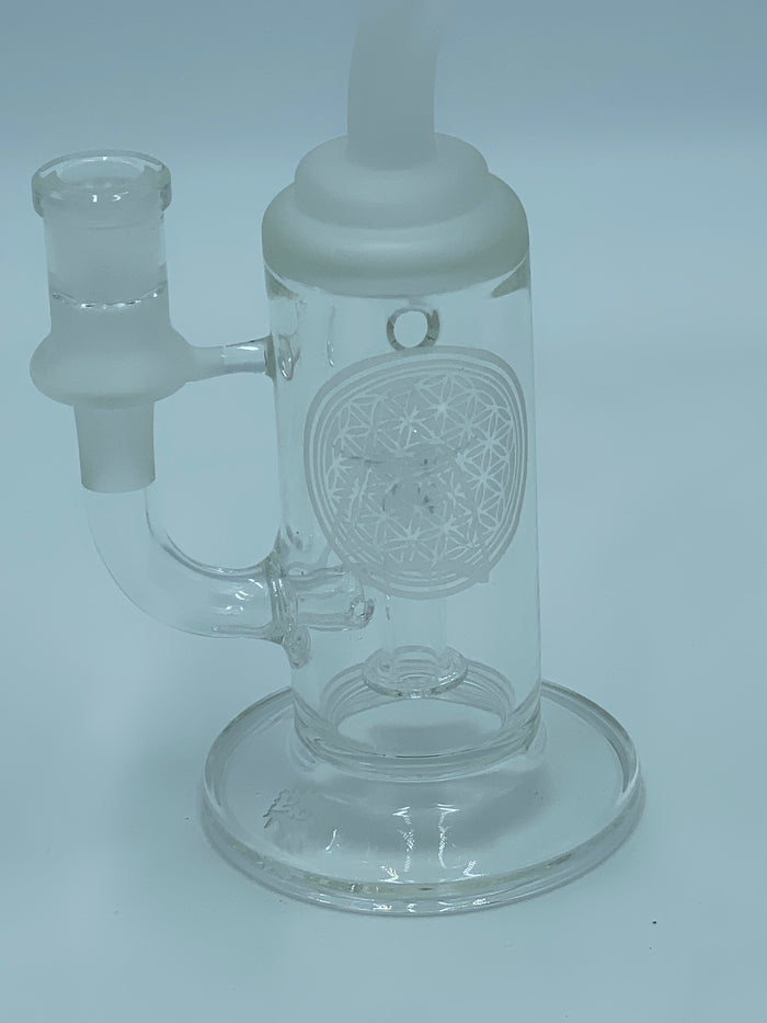 PAG SANDBLASTED RIG - Smoke Country - Land of the artistic glass blown bongs