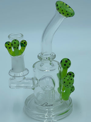 LEISURE GLASS SLIME CACTUS RIG - Smoke Country - Land of the artistic glass blown bongs
