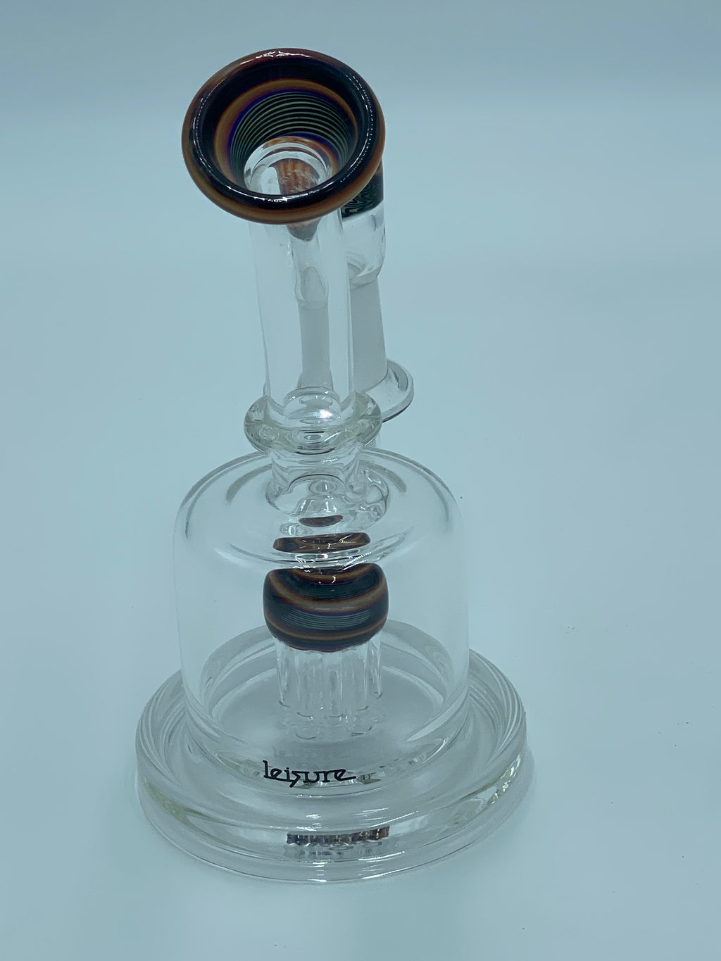 LEISURE GLASS FLAMEWORK RIG - Smoke Country - Land of the artistic glass blown bongs