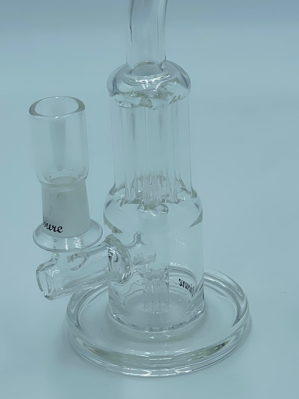 LEISURE GLASS 6 SHOOTER RIG - Smoke Country - Land of the artistic glass blown bongs