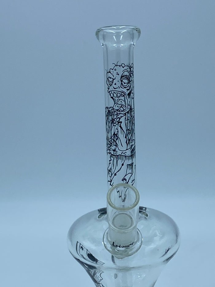 LEISURE GLASS SPACESHIP RIG - Smoke Country - Land of the artistic glass blown bongs