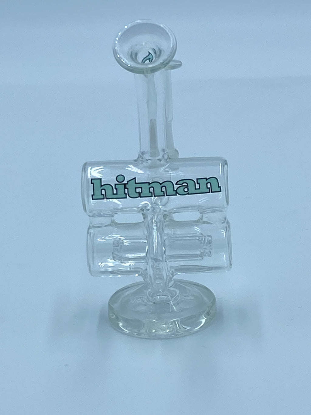 HITMAN DOUBLE BARREL RIG - Smoke Country - Land of the artistic glass blown bongs