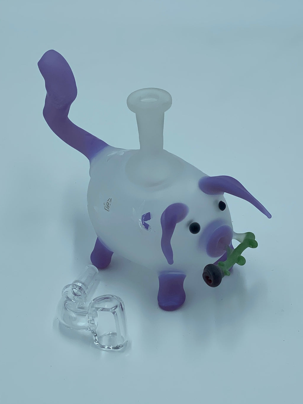 KOBB GLASS FROSTED PIG RIG - Smoke Country - Land of the artistic glass blown bongs