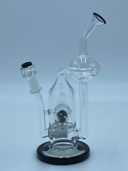 Pure Glass Black Lip Recycler