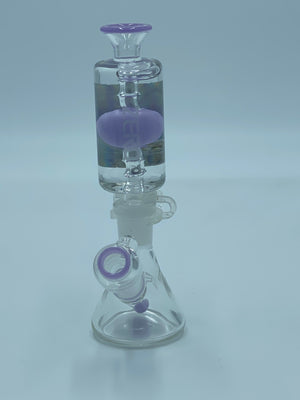 PURE GLASS PURPLE  FREEZABLE COIL - Smoke Country - Land of the artistic glass blown bongs