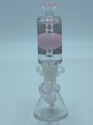 PURE GLASS PINK FREEZABLE COIL - Smoke Country - Land of the artistic glass blown bongs