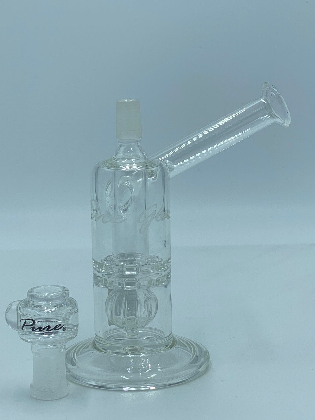 PURE GLASS TORUS SIDE CAR - Smoke Country - Land of the artistic glass blown bongs