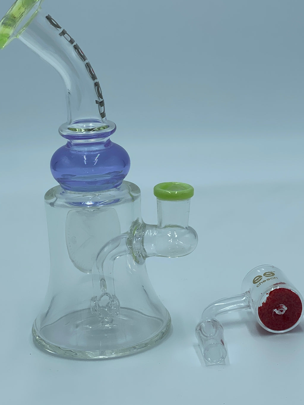 CHEECH GLASS CLOCK RIG SET - Smoke Country - Land of the artistic glass blown bongs