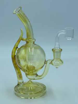 RED EYE GLASS COLOR CHANGE GOBLET RIG - Smoke Country - Land of the artistic glass blown bongs