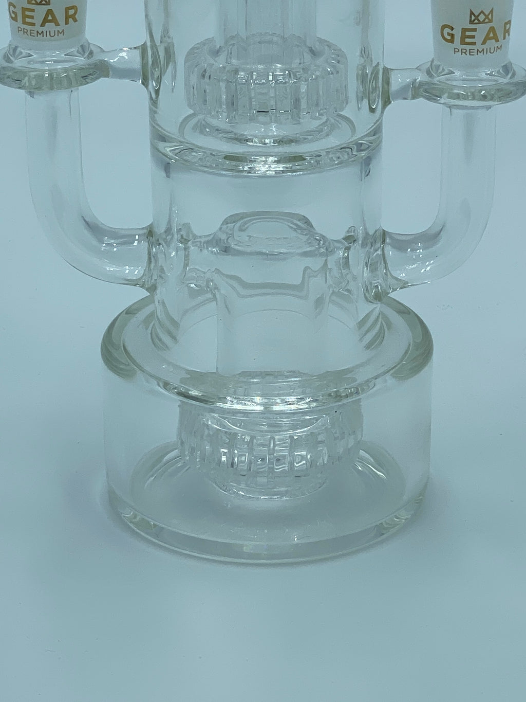 GEAR PREMIUM  DUAL HIT PERCOLATOR - Smoke Country - Land of the artistic glass blown bongs