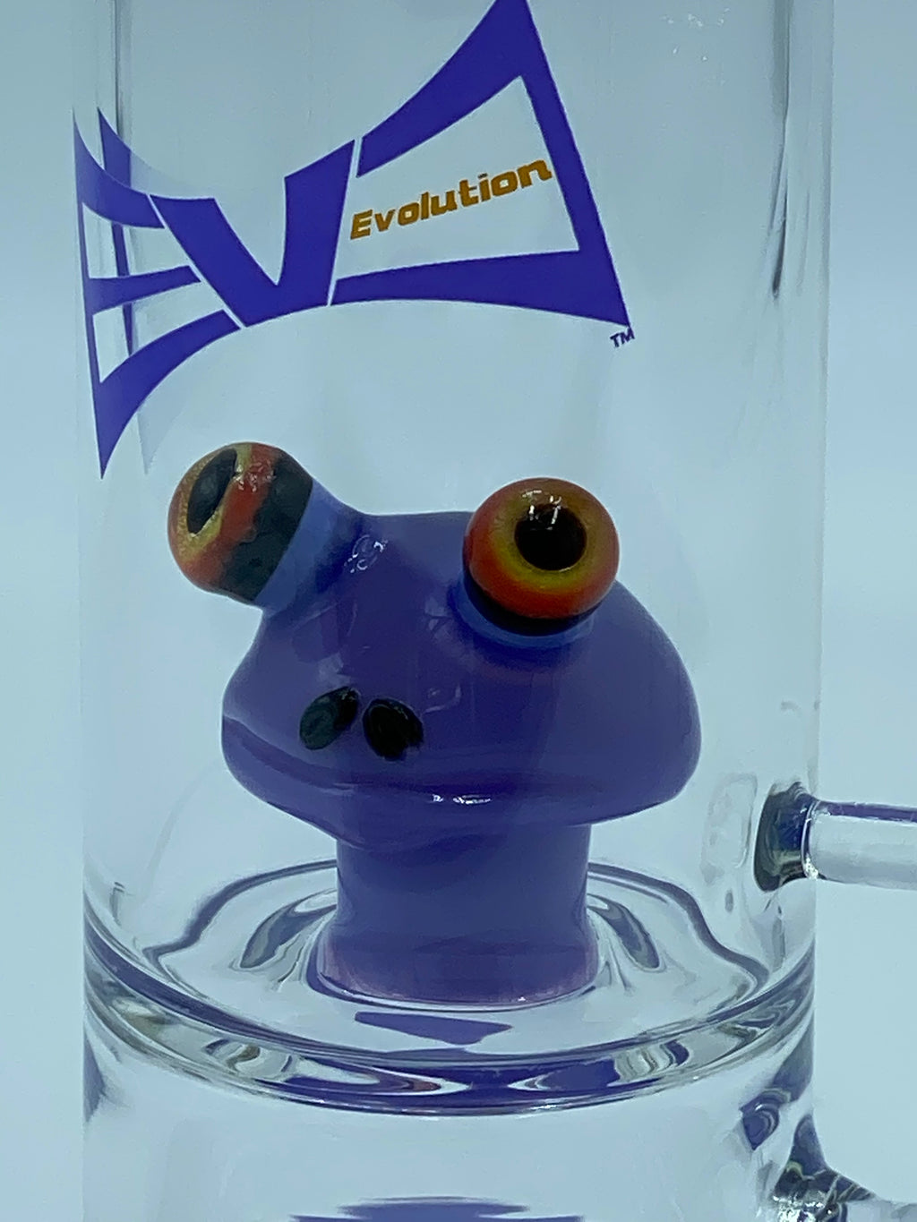 Evolution Glass PURPLE KERMIT PERCOLATOR - Smoke Country - Land of the artistic glass blown bongs