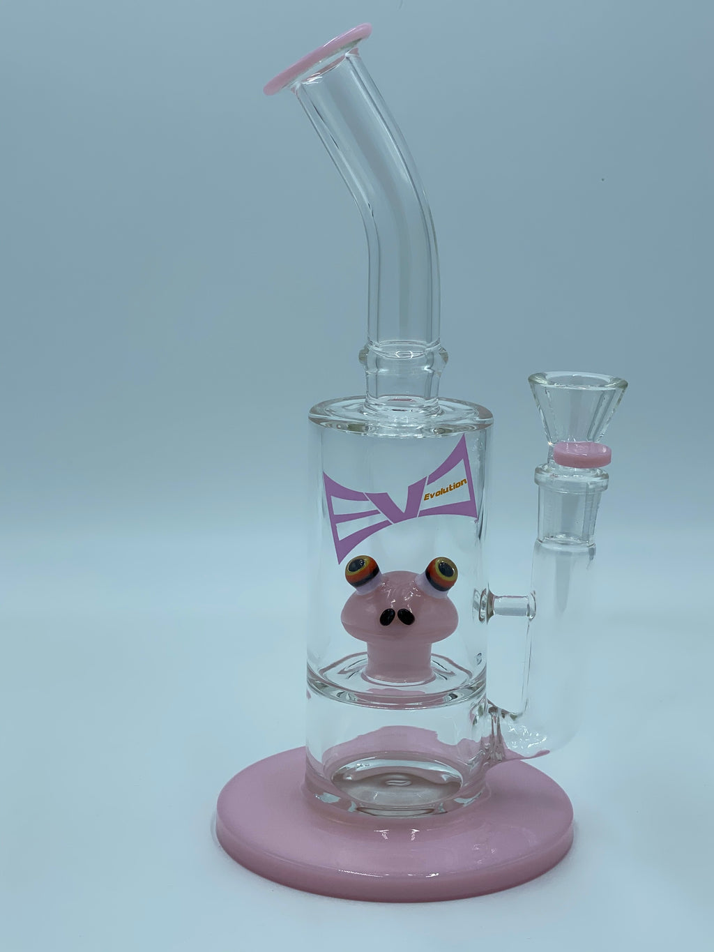 Evolution Glass PINK KERMIT PERCOLATOR - Smoke Country - Land of the artistic glass blown bongs