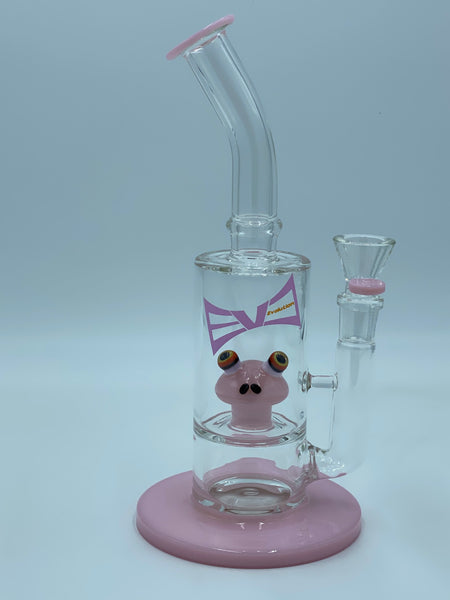 Evolution Glass Pink Kermit Percolator