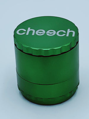 CHEECH LARGE GREEN REMOVABLE GRINDER - Smoke Country - Land of the artistic glass blown bongs