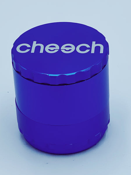 Cheech Large Blue Removable Grinder