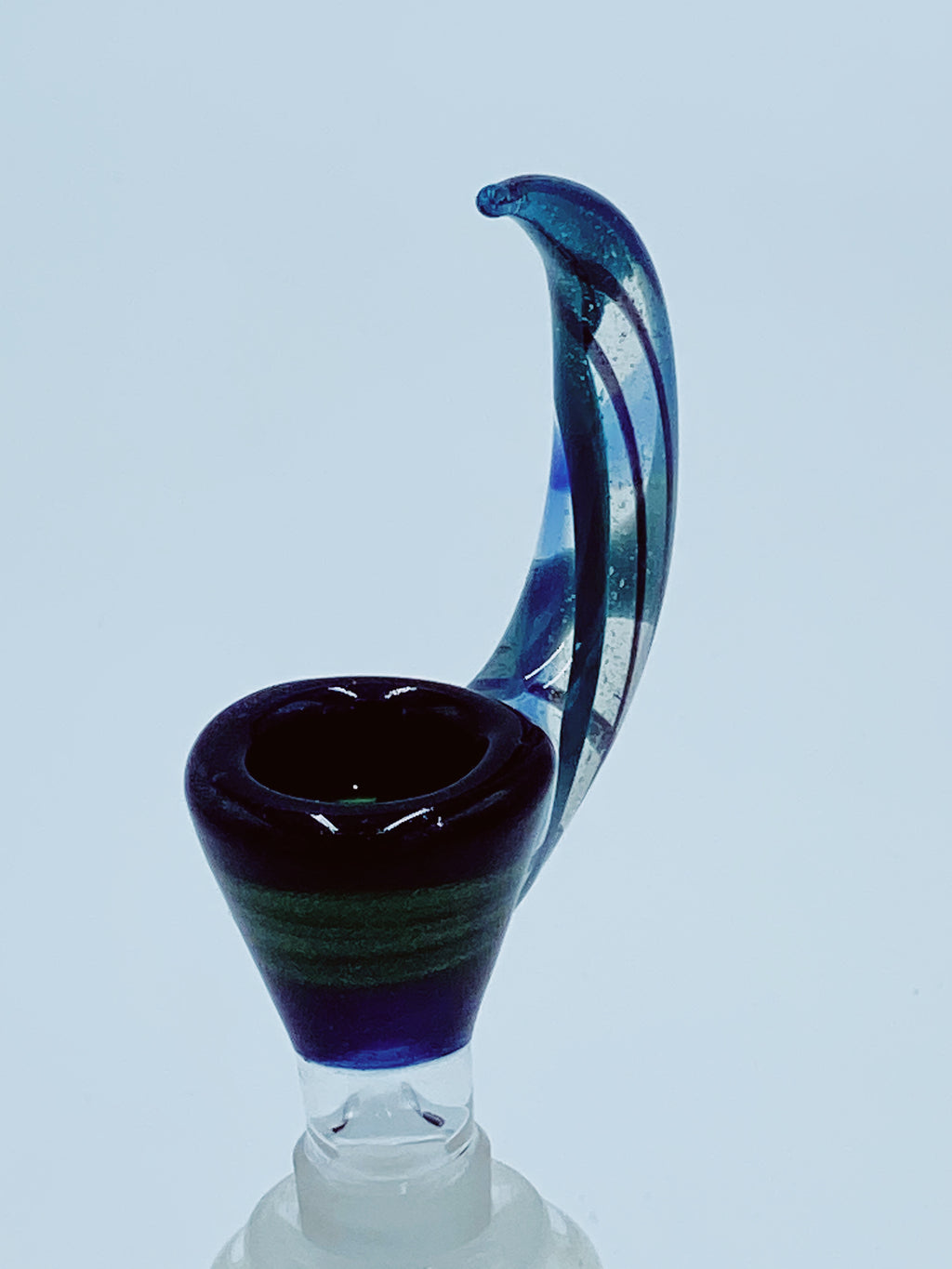 TEAR E 14MM DEEP BLUE UV BOWL - Smoke Country - Land of the artistic glass blown bongs