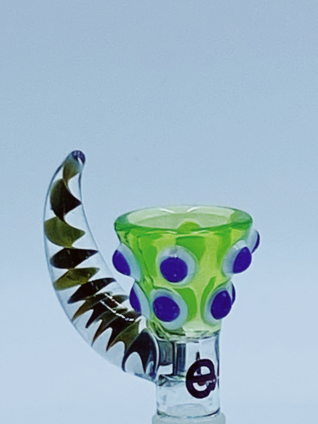 CHEECH GLASS 14MM UPHORN BOWL - Smoke Country - Land of the artistic glass blown bongs