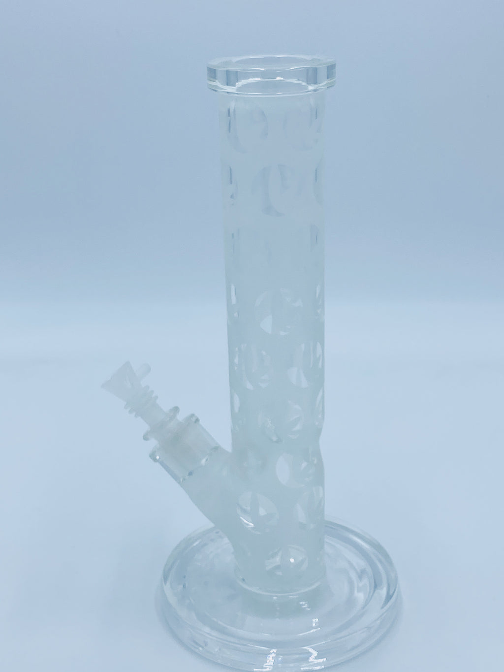 ROSS GOLD GLASS FROSTED STRAIGHT TUBE - Smoke Country - Land of the artistic glass blown bongs