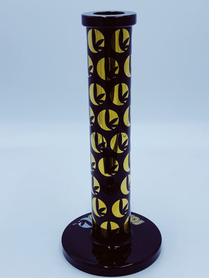 ROSS GOLD GLASS STRAIGHT TUBE - Smoke Country - Land of the artistic glass blown bongs