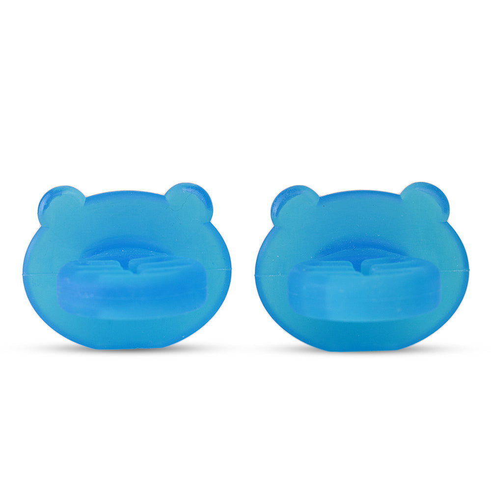 Little Dippers Silicone Starter Spoon & Teether | 1st and 2nd Stage Spoons