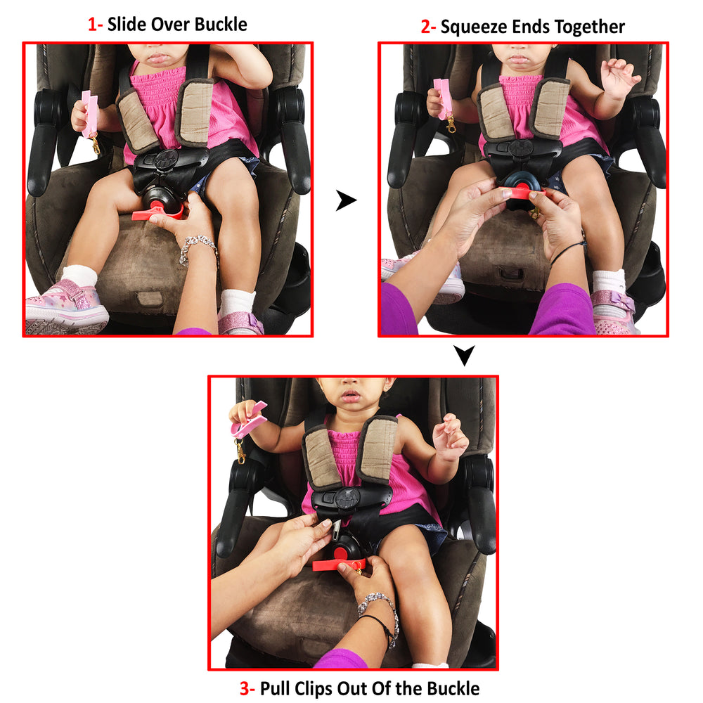 Buckle Pal | Buckle Release Tool | Unbuckle Carseats Easily