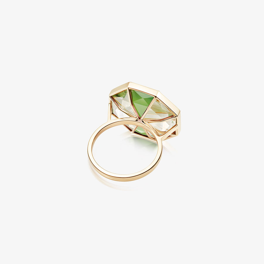 GREEN AURA RING