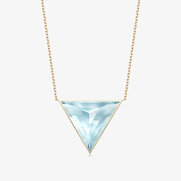 BLUE TOPAZ GROUNDING GUARDIAN GOLD (LARGE)