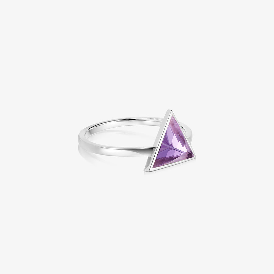 AMETHYST ULTIMATE GUARDIAN RING SILVER
