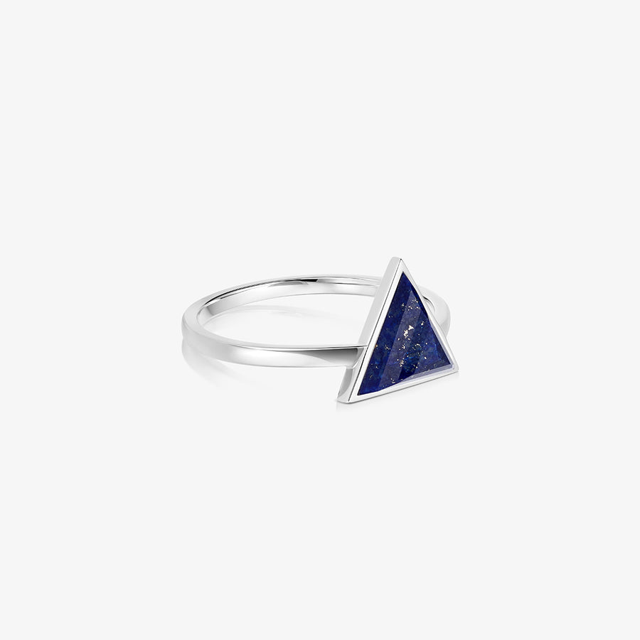BLUE LAPIS ULTIMATE GUARDIAN RING SILVER