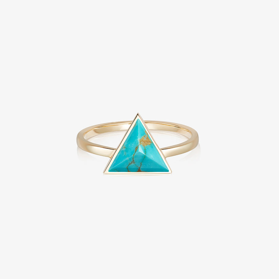 TURQUOISE ULTIMATE GUARDIAN RING GOLD
