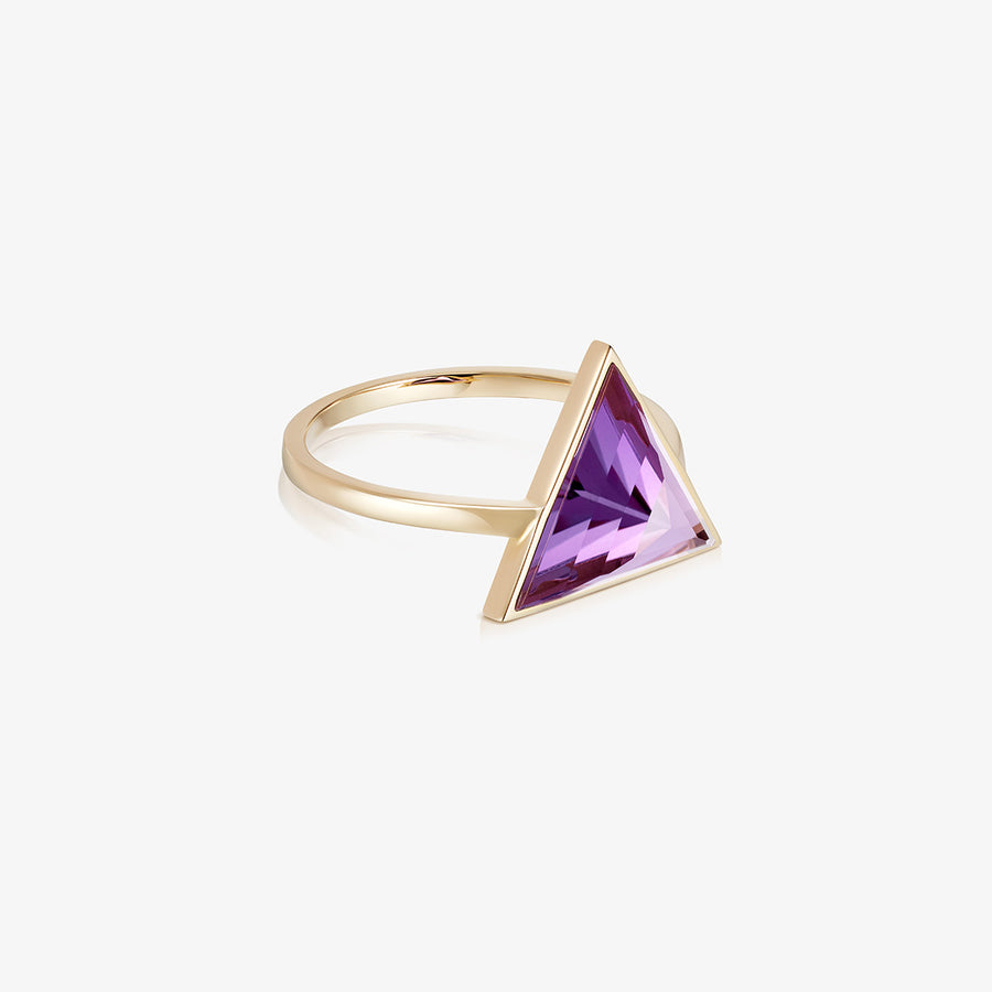 AMETHYST ULTIMATE GUARDIAN RING GOLD (LARGE)