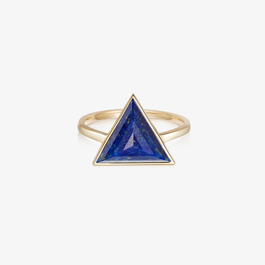 BLUE LAPIS ULTIMATE GUARDIAN RING GOLD (LARGE)