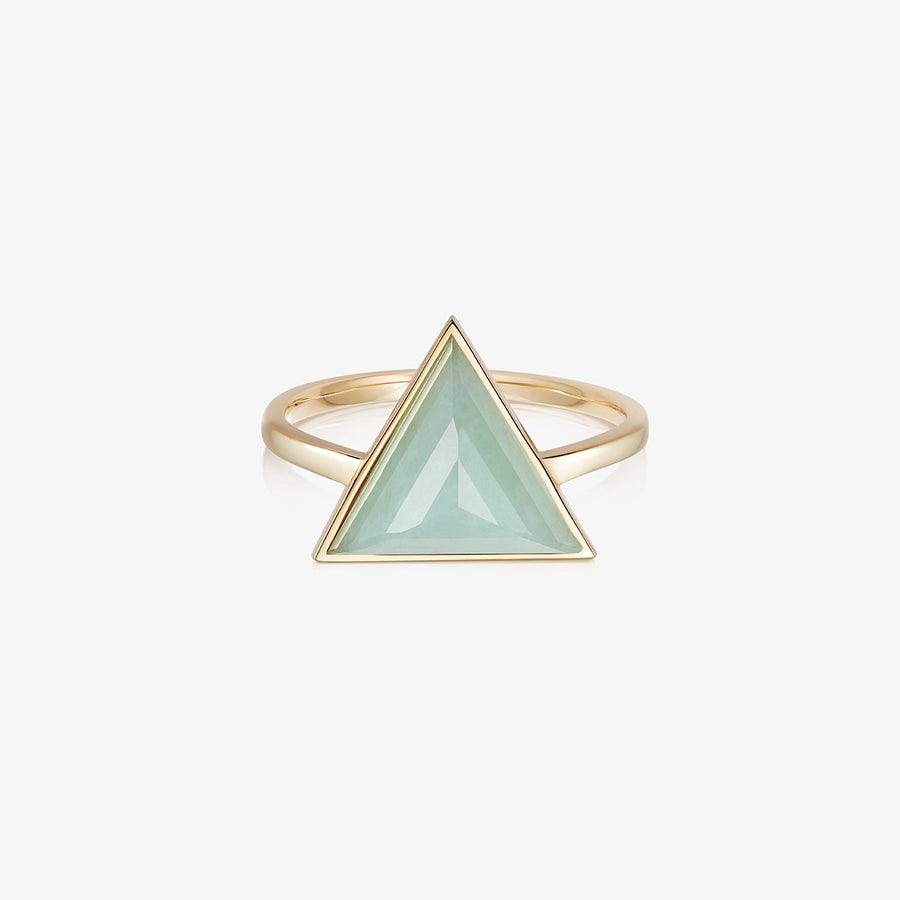 JADE ULTIMATE GUARDIAN RING GOLD (LARGE)