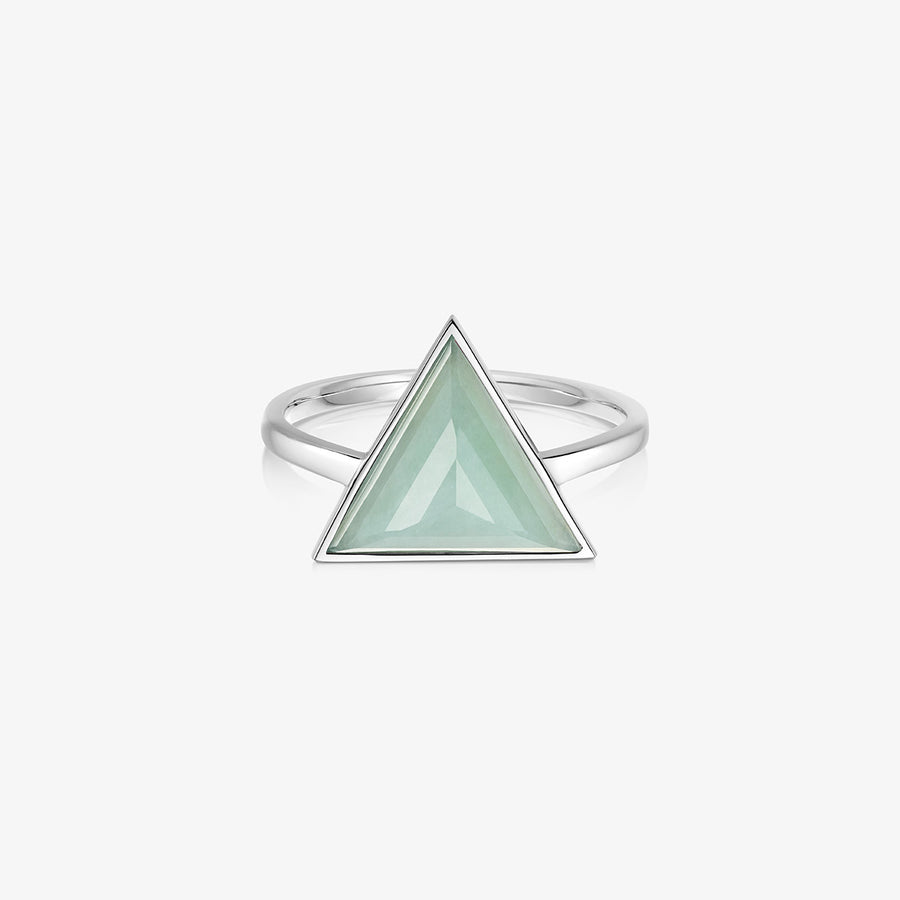 JADE ULTIMATE GUARDIAN RING SILVER (LARGE)
