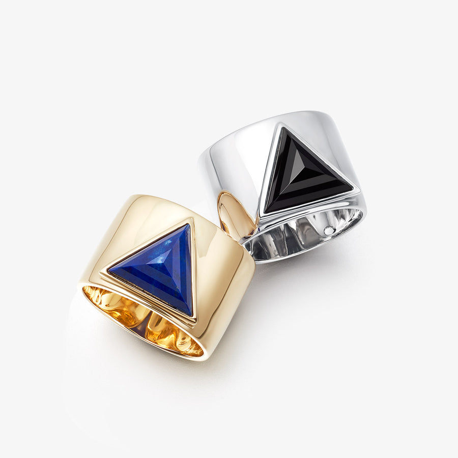 BLUE LAPIS ULTIMATE GUARDIAN RING (GOLD)