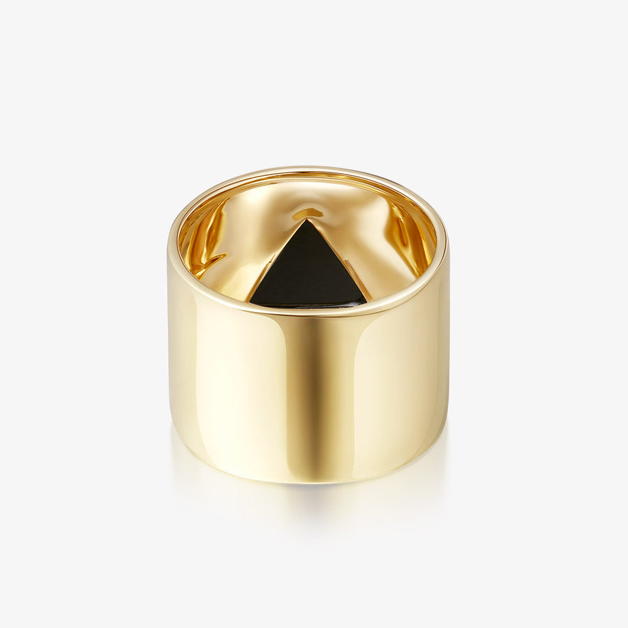 BLACK ONYX ULTIMATE GUARDIAN RING (GOLD)