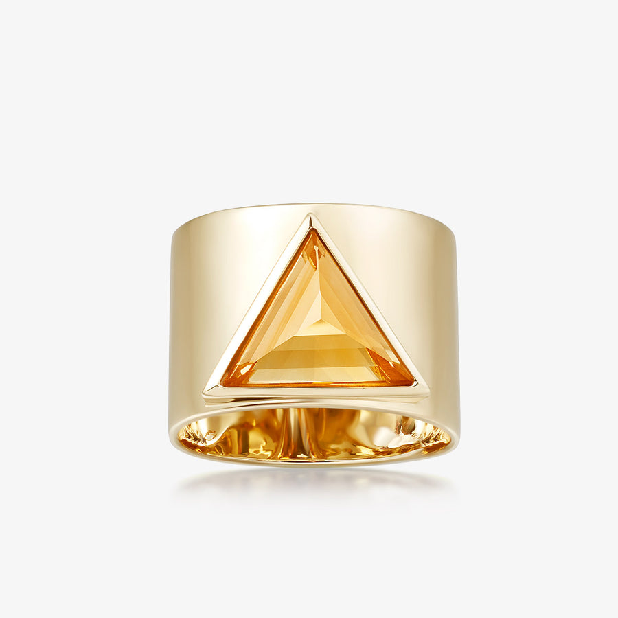 CITRINE ULTIMATE GUARDIAN RING (GOLD)