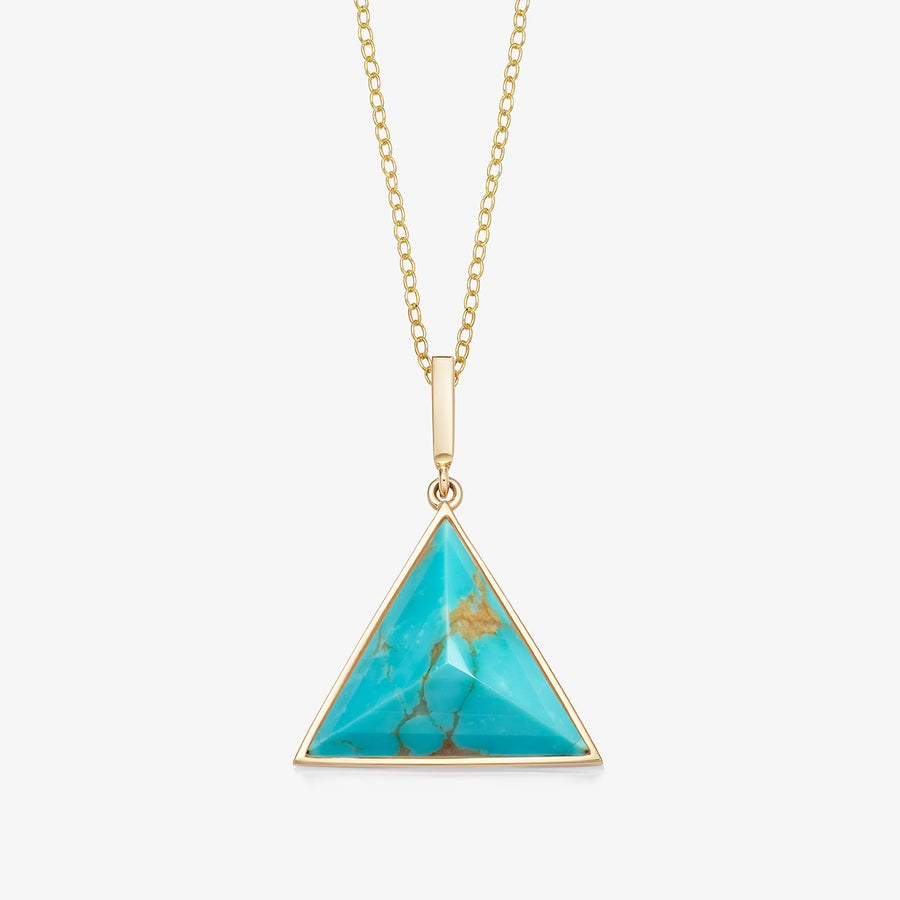 TURQUOISE ULTIMATE GUARDIAN PENDANT GOLD (MEDIUM)