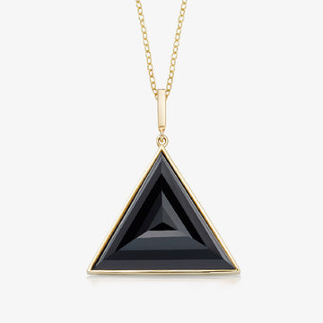 BLACK ONYX ULTIMATE GUARDIAN PENDANT (GOLD)